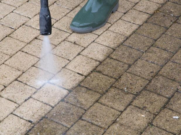 pavers pressure washing dedham ma